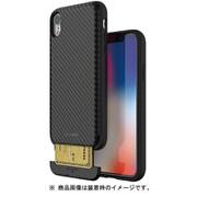 MN13985i61 [iPhone XR用ケース CARDLA SLOT BK CARBON]