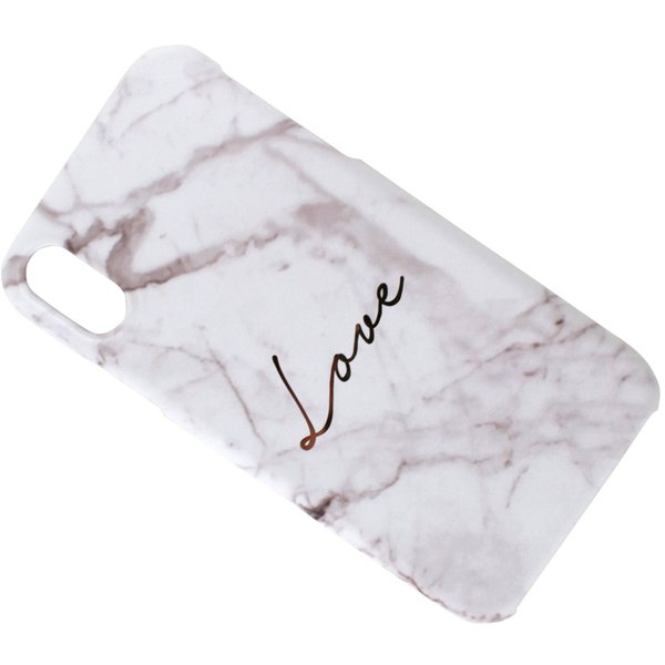 HM14459i61 [iPhone XR用ケース Marble love WH]