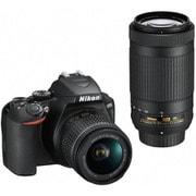 D3500 ダブルズームキット [ボディ+交換レンズ「AF-P DX NIKKOR 18-55mm f/3.5-5.6G VR」+「AF-P DX NIKKOR 70-300mm f/4.5-6.3G ED VR」]