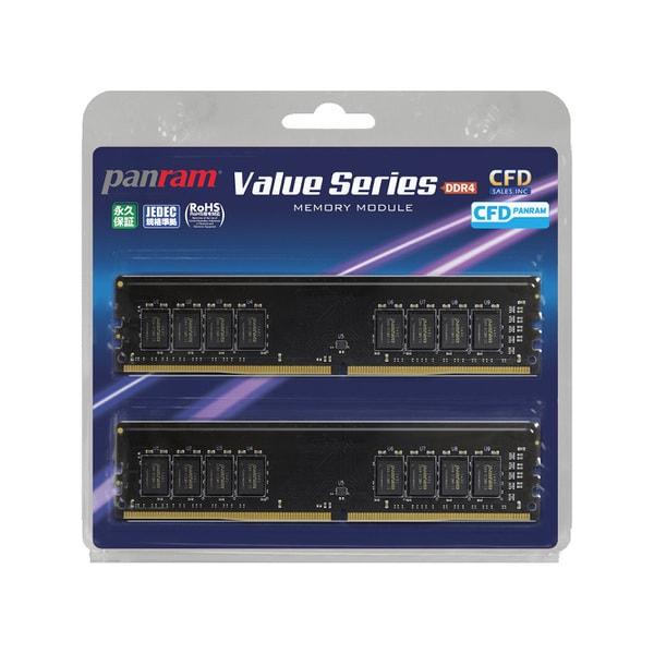 W4U2666PS-8GC19 [デスクトップ用メモリ 288pin DIMM 8GB 2枚組]