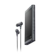 NW-A56HN B [ポータブルオーディオプレーヤー Walkman(ウォークマン) A50シリーズ 32GB ハイレゾ音源対応 専用ヘッドホン付 グレイッシュブラック]