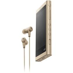 NW-A56HN N [ポータブルオーディオプレーヤー Walkman(ウォークマン) A50シリーズ 32GB ハイレゾ音源対応 専用ヘッドホン付 ペールゴールド]