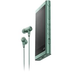 NW-A56HN G [ポータブルオーディオプレーヤー Walkman(ウォークマン) A50シリーズ 32GB ハイレゾ音源対応 専用ヘッドホン付 ホライズングリーン]