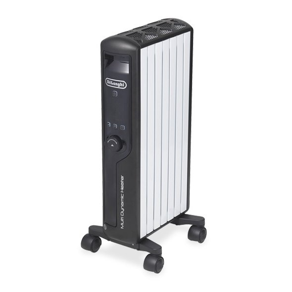 MDHU09-BK [マルチダイナミックヒーター 快適温度一定キープモデル 900Wモデル 6~8畳 ピュアホワイト+マットブラック]