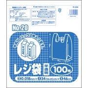 R-204 [レジ袋No20 半透明 100枚]