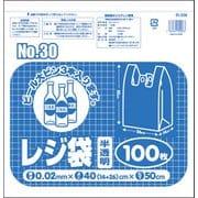 R-206 [レジ袋No30 半透明 100枚]