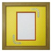 ORI柄フレーム 150 ポストカード 三角 幾何学×Y