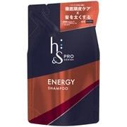 h&sPROシリーズ エナジーシャンプー つめかえ用 300mL [シャンプー]