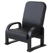83-943 [リクライニングTV座椅子 BK PVC]