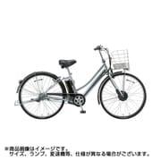 AL7B49 3P96BA0 [電動アシスト自転車 アルベルト e L型 27型 14.3Ah相当 内装5段変速 M.XHスパークルシルバー 2019年モデル]
