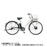 AL7B49 3P96BD0 [電動アシスト自転車 アルベルト e L型 27型 14.3Ah相当 内装5段変速 P.Xシャンパンホワイト 2019年モデル]