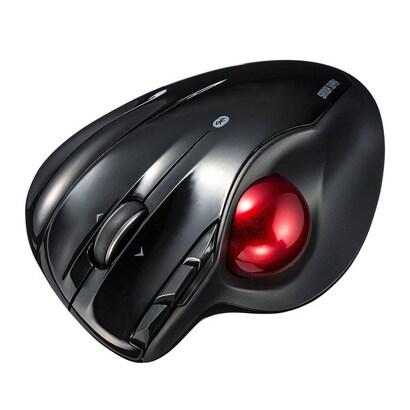 MA-BTTB1BK [Bluetooth4.0 トラックボール ブラック]