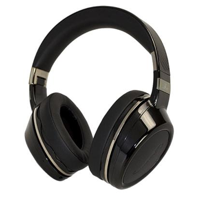 F01B [Bluetoothヘッドホン 平面波ドライバーユニット搭載ヘッドスピーカー ブラック]