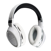 F01W [Bluetoothヘッドホン 平面波ドライバーユニット搭載ヘッドスピーカー ホワイト]
