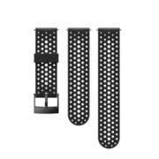 24 ATH1 SILICONE STRAP BLACK/BLACK S+M [キャンプ用品 アクセサリー]