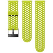 24MM ATH1 SILICONE STRAP LIME/BLACK S+M  SS050226000 [ストラップ]