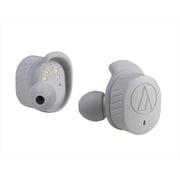 ATH-SPORT7TW GY [フルワイヤレス Bluetoothヘッドホン SONICSPORT IPX5防水対応 グレー]