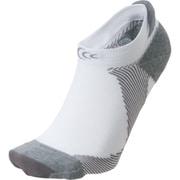 アーチサポートショートソックス Arch Support Short Socks 3F93356 (WH)ホワイト×グレー Mサイズ [スポーツソックス]