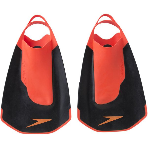 Fastskin ファストスキン キックフィン  SD97A22 (KR)ブラック×レッド Lサイズ [スイミング 水着 ベビー]