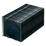 FCD-PU50MBKN [Blu-ray DVD CDケース(スリムタイプ 50枚セット マットブラック)]