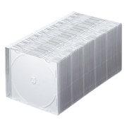 FCD-PU50MWN [Blu-ray DVD CDケース(スリムタイプ 50枚セット マットホワイト)]