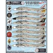 アメリカ海軍 F-14トムキャット カラー&マーキング デカール Part.III [1/48スケール デカール]