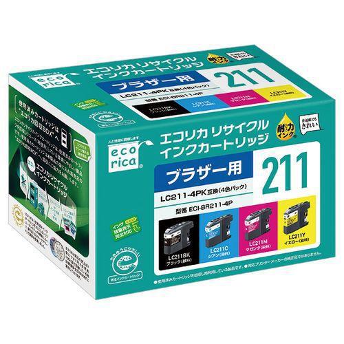 ECI-BR211-4P [LC211-4PK対応4色セット]