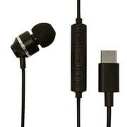 REMMSC01BK [USB Type-C 片耳イヤホンマイク スマートフォン用 スイッチ付 ブラック]