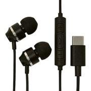 RESMSC01BK [USB Type-C ステレオイヤホンマイク スマートフォン用 スイッチ付 ブラック]