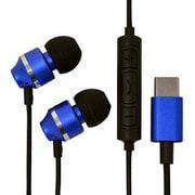 RESMSC01BL [USB Type-C ステレオイヤホンマイク スマートフォン用 スイッチ付 ブルー]