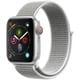 Apple Watch Series 4(GPS+Cellularモデル)- 40mm シルバーアルミニウムケース と シーシェルスポーツループ [MTVC2J/A]