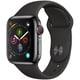 Apple Watch Series 4(GPS+Cellularモデル)- 40mm スペースブラックステンレススチールケース と ブラックスポーツバンド [MTVL2J/A]