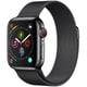 Apple Watch Series 4(GPS+Cellularモデル)- 40mm スペースブラックステンレススチールケース と スペースブラックミラネーゼループ [MTVM2J/A]