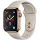 Apple Watch Series 4(GPS+Cellularモデル)- 40mm ゴールドステンレススチールケース と ストーンスポーツバンド [MTVN2J/A]