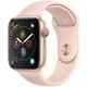 Apple Watch Series 4(GPS+Cellularモデル)- 44mm ゴールドアルミニウムケース と ピンクサンドスポーツバンド [MTVW2J/A]