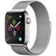 Apple Watch Series 4(GPS+Cellularモデル)- 44mm ステンレススチールケース と ミラネーゼループ [MTX12J/A]