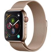 Apple Watch Series 4(GPS+Cellularモデル)- 44mm ゴールドステンレススチールケース と ゴールドミラネーゼループ [MTX52J/A]