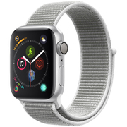 Apple Watch Series 4(GPSモデル)- 40mm シルバーアルミニウムケース と シーシェルスポーツループ [MU652J/A]