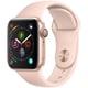 Apple Watch Series 4(GPSモデル)- 40mm ゴールドアルミニウムケース と ピンクサンドスポーツバンド [MU682J/A]
