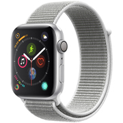 Apple Watch Series 4(GPSモデル)- 44mm シルバーアルミニウムケース と シーシェルスポーツループ [MU6C2J/A]