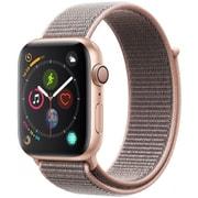 Apple Watch Series 4(GPSモデル)- 44mm ゴールドアルミニウムケース と ピンクサンドスポーツループ [MU6G2J/A]