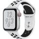 Apple Watch Nike+ Series 4(GPS+Cellularモデル)- 40mm シルバーアルミニウムケース と ピュアプラチナム/ブラック Nikeスポーツバンド [MTX62J/A]