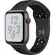 Apple Watch Nike+ Series 4(GPS+Cellularモデル)- 44mm スペースグレイアルミニウムケース と アンスラサイト/ブラック Nikeスポーツバンド [MTXM2J/A]
