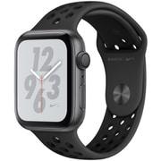 Apple Watch Nike+ Series 4(GPSモデル)- 44mm スペースグレイアルミニウムケース と アンスラサイト/ブラック Nikeスポーツバンド [MU6L2J/A]