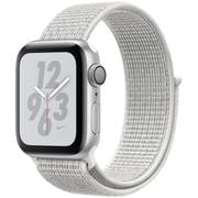 Apple Watch Nike+ Series 4(GPSモデル)- 40mm シルバーアルミニウムケース と サミットホワイト Nikeスポーツループ [MU7F2J/A]