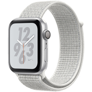 Apple Watch Nike+ Series 4(GPSモデル)- 44mm シルバーアルミニウムケース と サミットホワイト Nikeスポーツループ [MU7H2J/A]