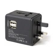 LG-OP002 [USB2ポート付き海外用コンセント変換アダプター]