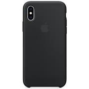 iPhone XS シリコーンケース ブラック [MRW72FE/A]