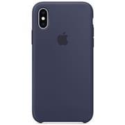 iPhone XS シリコーンケース ミッドナイトブルー [MRW92FE/A]