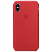 iPhone XS シリコーンケース (PRODUCT)RED [MRWC2FE/A]